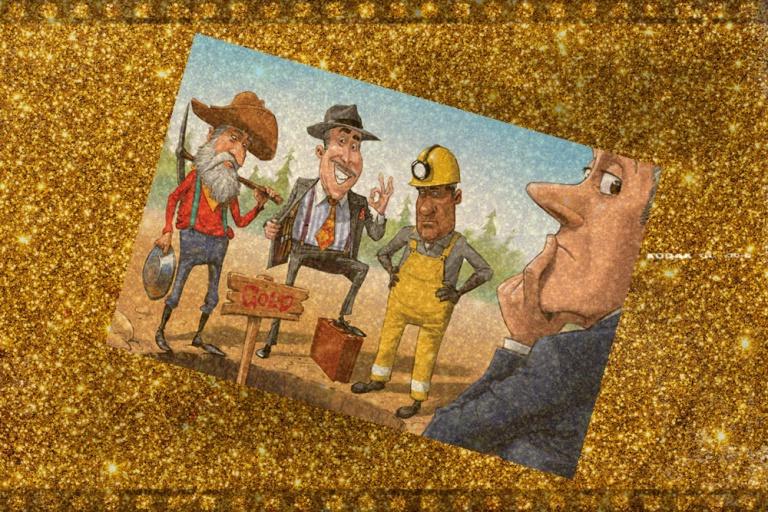 BIZONYTALANSÁG, Aranybányászati Emelkedés